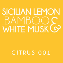 Diffuser - Citrus 001 - Sicilian lemon, bamboo and white musk