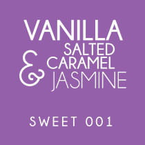 Diffuser - Sweet 001 - Vanilla salted caramel and water jasmine