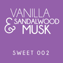 Diffuser - Sweet 002 - Vanilla, sandalwood and musk