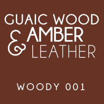 Diffuser - Woody 001 - Guaic wood, amber and leather