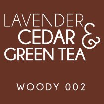Diffuser - Woody 002 - Lavender, cedar and green tea