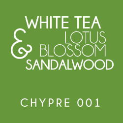 Diffuser - Chypre 001 - White tea, Lotus blossom and Sandalwood