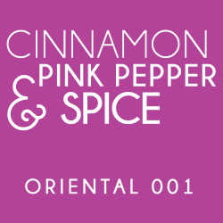 Diffuser - Oriental 001 - Cinnamon, pink pepper and spice